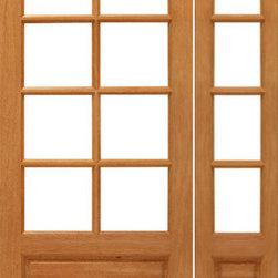 "Prehung 8-lite French Brazilian Mahogany Wood 1 Panel IG Glass Side light Door - SKU#8-lite-P/B-Ext-1-1BrandAAWDoor TypeFrenchManufacturer CollectionMahogany French DoorsDoor ModelDoor MaterialWoodWoodgrainMahoganyVeneerPrice1338Door Size Options[24""+14"" x 80""] (3'-2"" x 6'-8"")  $0[30""+14"" x 80""] (3'-8"" x 6'-8"")  $0[32""+14"" x 80""] (3'-10"" x 6'-8"")  $0[36""+14"" x 80""] (4'-2"" x 6'-8"")  +$10Core TypeSolidDoor StyleDoor Lite Style3/4 Lite , 8 LiteDoor Panel Style1 Panel , Ovolo StickingHome Style MatchingCraftsman , Colonial , Cape Cod , VictorianDoor ConstructionEngineered Stiles and RailsPrehanging OptionsPrehungPrehung ConfigurationDoor with One SideliteDoor Thickness (Inches)1.75Glass Thickness (Inches)1/2Glass TypeDouble GlazedGlass CamingGlass FeaturesInsulated , Tempered , low-E , Beveled , DualGlass StyleClear , White LaminatedGlass TextureClear , White LaminatedGlass ObscurityNo Obscurity , High ObscurityDoor FeaturesDoor ApprovalsFSCDoor FinishesDoor AccessoriesWeight (lbs)510Crating Size25"" (w)x 108"" (l)x 52"" (h)Lead TimeSlab Doors: 7 daysPrehung:14 daysPrefinished, PreHung:21 daysWarranty1 Year Limited Manufacturer WarrantyHere you can download warranty PDF document."