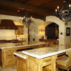 Mediterranean Kitchen by shannon callaghan interior design
