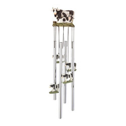 GSC - Wind Chime Round Top Cow Hanging Garden Porch Decoration Decor Musical - This gorgeous Wind Chime Round Top Cow Hanging Garden Porch Decoration Decor Musical has the finest details and highest quality you will find anywhere! Wind Chime Round Top Cow Hanging Garden Porch Decoration Decor Musical is truly remarkable.