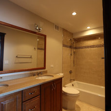 Traditional Bathroom by A-1 PAM Plastering & Remodeling, Inc.