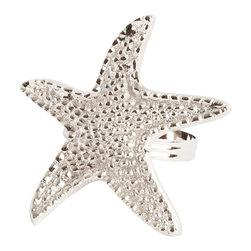 Saro - Star fish Napkin Ring SET/4 - Star fish Napkin Ring SET/4
