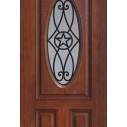 "Single Door 80 Fiberglass Austin Texas Star Oval Lite GBG Glass - SKU#    MCT022WABrand    GlassCraftDoor Type    ExteriorManufacturer Collection    Oval Lite Entry DoorsDoor Model    AustinDoor Material    FiberglassWoodgrain    Veneer    Price    945Door Size Options      +$percent  +$percentCore Type    Door Style    Texas StarDoor Lite Style    Oval LiteDoor Panel Style    EyebrowHome Style Matching    Door Construction    Prehanging Options    Slab , PrehungPrehung Configuration    Single DoorDoor Thickness (Inches)    1.75Glass Thickness (Inches)    Glass Type    Double GlazedGlass Caming    Glass Features    Tempered glassGlass Style    Glass Texture    Glass Obscurity    Door Features    Door Approvals    Energy Star , TCEQ , Wind-load Rated , AMD , NFRC-IG , IRC , NFRC-Safety GlassDoor Finishes    Door Accessories    Weight (lbs)    248Crating Size    25"" (w)x 108"" (l)x 52"" (h)Lead Time    Slab Doors: 7 Business DaysPrehung:14 Business DaysPrefinished, PreHung:21 Business DaysWarranty    Five (5) years limited warranty for the Fiberglass FinishThree (3) years limited warranty for MasterGrain Door Panel"