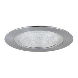 "Nora Lighting - Nora NTS-4223 4"" Fresnel Shower Trim with Cone Reflector, Nts-4223n - 4"" Fresnel Shower Trim with Cone Reflector"