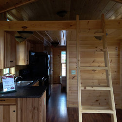 Park Model Cabin - Franklin - Full Kitchen, Bath, Bedroom, plus Sleeping Loft -