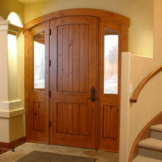 Traditional Front Doors by Sun Mountain, Inc.
