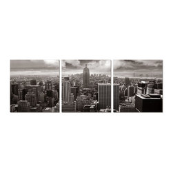 Elementem Photography - Empire State Building in Black and White Print - Mounting Instructions: