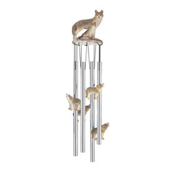 GSC - Wind Chime Round Top Wolf Family Wolves Garden Decoration Windchime - This gorgeous Wind Chime Round Top Wolf Family Wolves Garden Decoration Windchime has the finest details and highest quality you will find anywhere! Wind Chime Round Top Wolf Family Wolves Garden Decoration Windchime is truly remarkable.