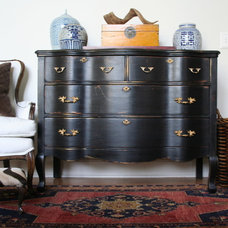 Traditional Side Tables And Accent Tables by Carolyn Shultz Fine Art