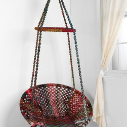 Marrakech Swing Chair - Sitting back, feet up — I can imagine my whole summer spent right here.