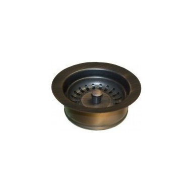 Disposer Trim W/Basket Strainer In Oil Rubbed Bronze - This Native Trails drain is designed to fit the ISE type disposer unit and can be used with our hand hammered copper kitchen and bar/prep sinks.