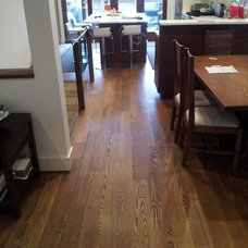 Contemporary Dining Room by Raincoast Floors Ltd