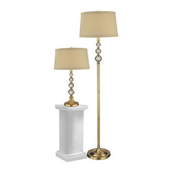 Dale Tiffany - New Dale Tiffany Table Floor Lamp Set Optic - Product Details