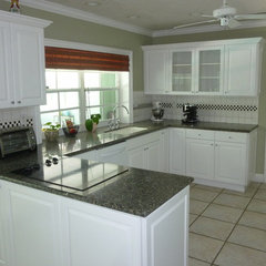 mediterranean kitchen cabinets by Visions