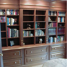 Traditional Home Office by Courthouse Contractors / Kitchens & Baths