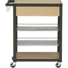 mise en place cart in storage | CB2