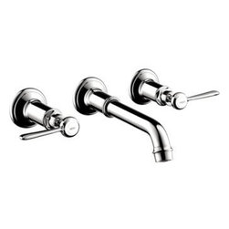 Axor - Hansgrohe - Axor Montreux Lever Widespread Wall Mount - 16534001 - Chrome Finish
