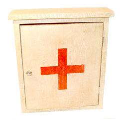 First Aid Storage Medicine Cabinet by The Shop at Rock Creek