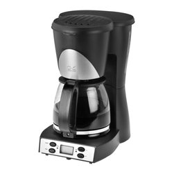 Kalorik - Black Programmable Coffee Maker - You can't go wrong with a programmable coffee maker. It will change the way you face the day the first time you smell the coffee being brewed from bed. This black and stainless looks like it would also be a stylish addition to the kitchen counter.