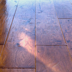 San Clemente, CA - Private Reserve Mendocino Collection Engineered American Hickory, Color:  Amaretto