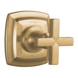 KOHLER - KOHLER K-T16242-3-BV Margaux Transfer Valve Trim with Cross Handle - KOHLER K-T16242-3-BV Margaux transfer valve trim with cross handle, valve not included in Vibrant Brushed Bronze