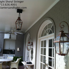 Traditional Outdoor Lighting by Sheryl Stringer