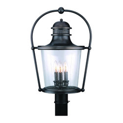 Troy Lighting - Troy Lighting Guild Hall Traditional Outdoor Post Lantern X-BE6302P - Post sold separately.