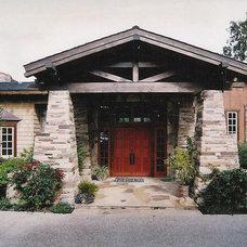 Traditional Exterior by Sarah Barnard Design