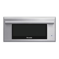 """Thermador 27"""" Warming Drawer, Stainless Steel With Masterpiece Handle   WD27JS - SoftClose Door Telescopic Rails Touch Control"""