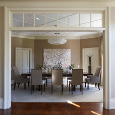 Contemporary Dining Room by foley&cox