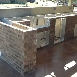Carey Outdoor kitchen and patio - FLO Grills of Austin