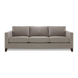 """Reese 79"""" Sleeper - If you're searching for a tuxedo-style sofa bed that looks nothing like a sleeper, this one by Mitchell Gold and Bob Williams is your best bet. It was the second choice on my list. I especially love its proportions that suit both modern and classic tastes."""