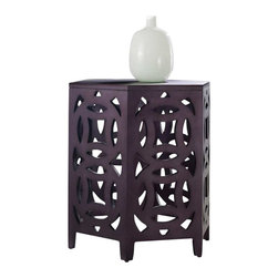 Hooker Furniture - Hooker Furniture Melange Hexagonal Table - Hooker Furniture - Accent Tables - 63850072 - Come closer to Melange, and you will discover something unexpected, an eclectic blending of colors, textures and materials in a vibrant collection of one-of-a-kind artistic pieces.