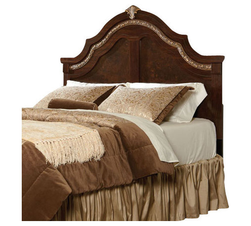 Standard Furniture - Standard Furniture Liberty Hall Full/Queen Panel Headboard in Cherry - Rich traditional details give Liberty Hall its dignified styling, its classical heritage and its timeless appeal.