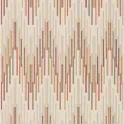Loloi Rugs - Loloi Rugs Carmen Ivory-Multi Contemporary Indoor/ Outdoor Rug - The zig-zag pattern of this Loloi Rugs indoor / outdoor rug comes paired with stripe detailing, which give it a whole new dimension. The backdrop features shades of mustard, neon pink and vibrant green, with many more hues, that compliment the ivory colored overlay.