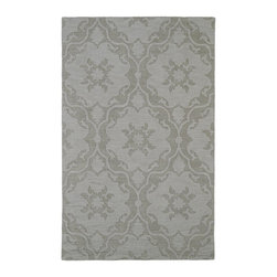 "Kaleen - Contemporary Imprints Classic Hallway Runner 2'6""x8' Runner Beige Area Rug - The Imprints Classic area rug Collection offers an affordable assortment of Contemporary stylings. Imprints Classic features a blend of natural Beige color. Hand Tufted of 100% Wool the Imprints Classic Collection is an intriguing compliment to any decor."