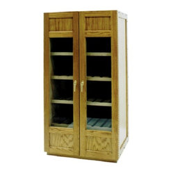 Vinotemp VINO-700CHEESE 700 Model Cheese Wooden Cabinet w/ Glass Doors - 7270Vinotemp wood ...