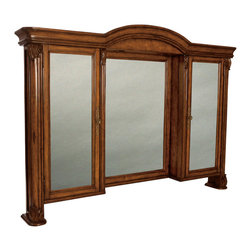 Ambella Home - Four Seasons Mirror w/ Medicine Cabinet - Four Seasons Mirror w/ Medicine Cabinet. Dimensions: 71 in. x 9 in. x 48.5 in.