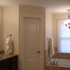 Traditional Bathroom by Synergy Design & Construction