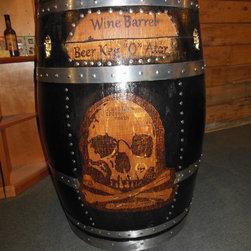"Wine Barrel Beer Keg ""O"" Ator - Brian Ropp"