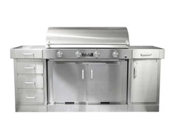 TEC - TEC G4000 FR Infrared Grill on Cabinet, Door, Drawer | LP - *702 square inches of grilling surface (primary)