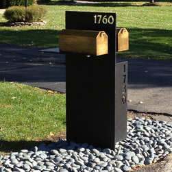 Contemporary Shared Mailbox - GMA