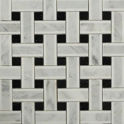 Twine Highstrung Marble Tile - Twine Highstrung Marble Tile    This marble mosaic will provide endless design possibilities from contemporary to classic. It creates a great focal point to suit a variety of settings.