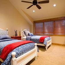 Eclectic Bedroom by Cherie Myrick Interiors