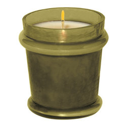 "Everybody's Ayurveda - Earth Filled Votive Ayurvedic Candle - Palm Green - This refreshing herbal blend contains notes that naturally neutralize odors like basil, pine, ginger and eucalyptus. Filled Votive. 100% soy wax Ayurvedic Candle in Glass. Made in the U.S.A. 2 1/2"" Wide x 2 1/2"" Deep x 3"" Tall."