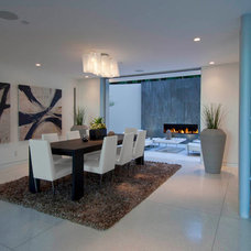 Modern Dining Room by Bowery Design Group