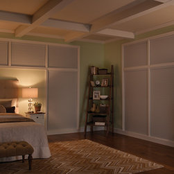 Cellular Shades - Installing Slumber Shades as a window covering will block out all incoming light with blackout fabric and tracks mounted in your window frame to prevent any light leaks.