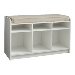 Martha Stewart Living Cubbie-Storage Bench With Seat