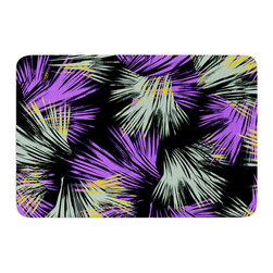 "KESS InHouse - Gabriela Fuente ""Tropical Fun"" Memory Foam Bath Mat (24"" x 36"") - These super absorbent bath mats will add comfort and style to your bathroom. These memory foam mats will feel like you are in a spa every time you step out of the shower. Available in two sizes, 17"" x 24"" and 24"" x 36"", with a .5"" thickness and non skid backing, these will fit every style of bathroom. Add comfort like never before in front of your vanity, sink, bathtub, shower or even laundry room. Machine wash cold, gentle cycle, tumble dry low or lay flat to dry. Printed on single side."