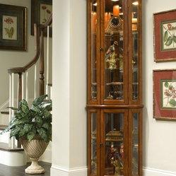Pulaski Furniture - Edwardian II Corner Curio by Pulaski Furniture - Edwardian II Corner Curio ...