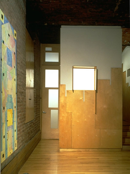 Contemporary Entry by George Ranalli Architect